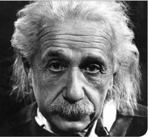 Austrian scientist Albert Einstein